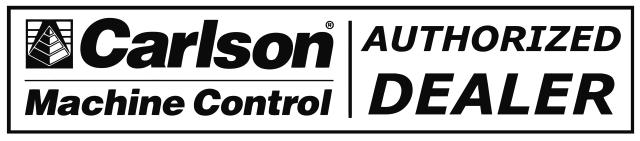 Carlson Machine Control